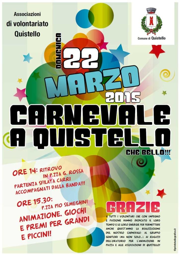 Carnevale 2015 a Quistello