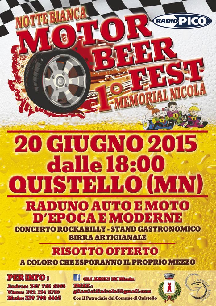 Motor Beer Fest Notte Bianca Quistello
