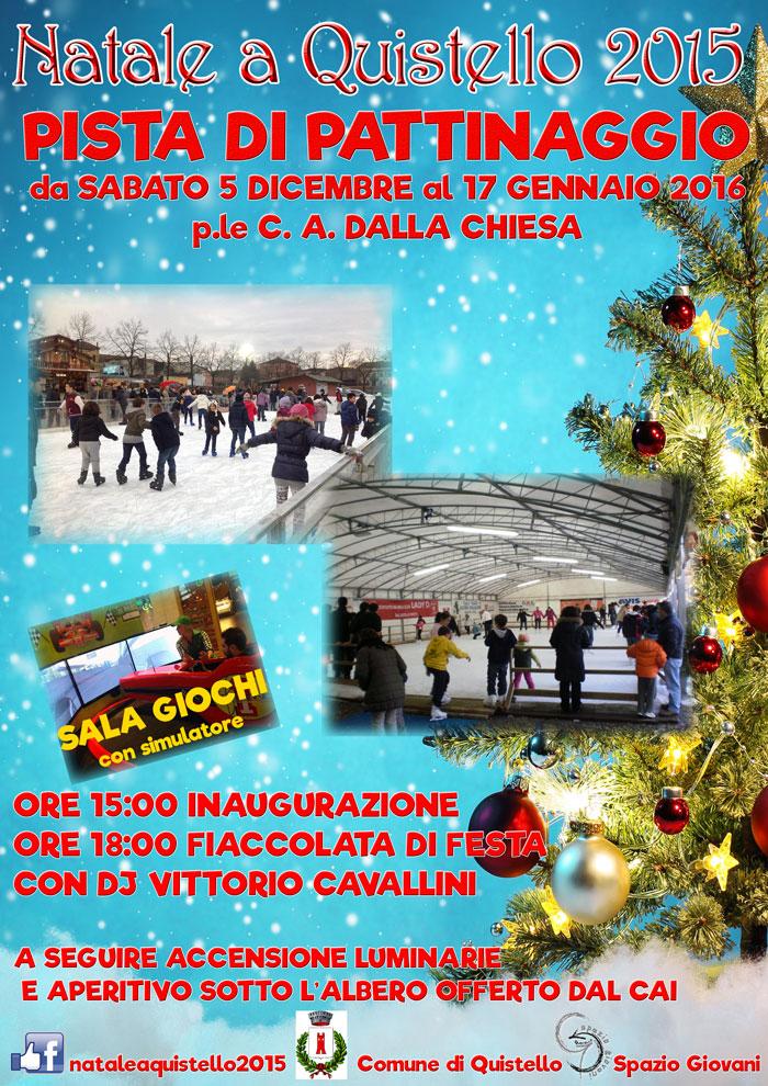 Pista di Pattinaggio sul Ghiaccio 2015 a Quistello (MN)