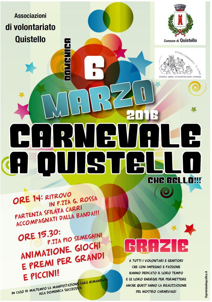 Carnevale a Quistello 2016