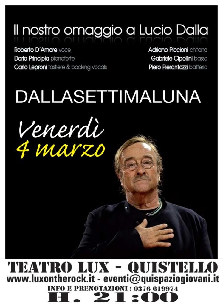 Concerto tributo a Lucio Dalla